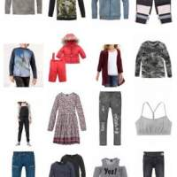 Children's clothing Pallets Brands Children's fashion Buffalo Bench etc Remaining stock