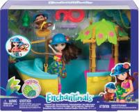 Enchantimals Dschungelwald-Boot